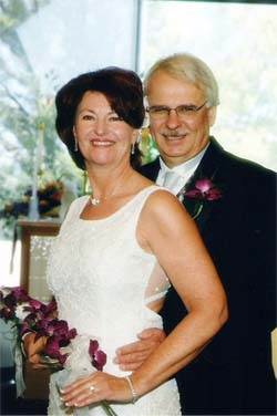 Barb and Chuck Davis Wedding Photo