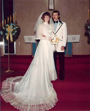 Barb and Jim Pendegraft Wedding photo