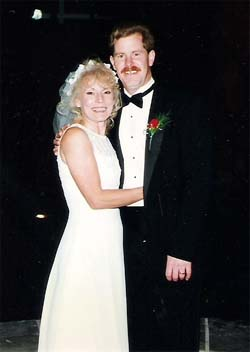 Kenneth and Terri Lynne Johnson Van Hoozer Wedding photo