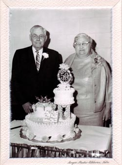 Arthur and Mary Huber Gottsch 50th. Wedding Anniversary