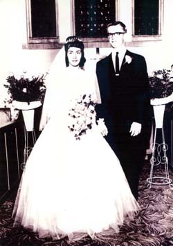 Judith Leonard Donald G. Hansen Wedding